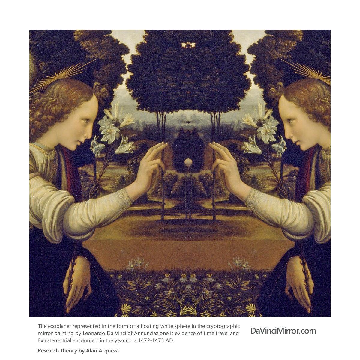 Is There A Binary Code Message Hidden In Mona Lisa ... Da Vinci Paintings Hidden Messages